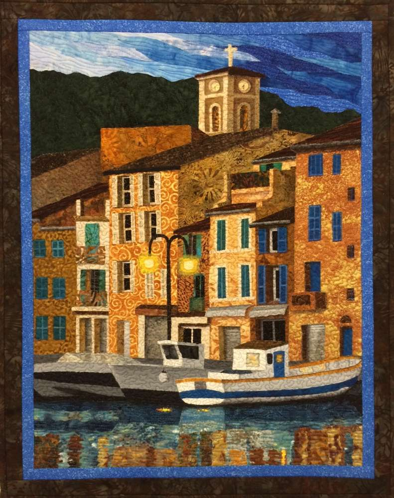 Port of Cassis Pattern