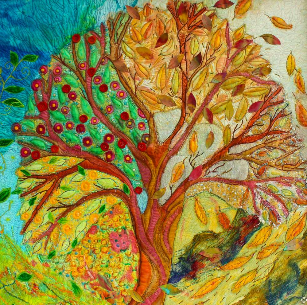 Seasonal treee approx size 40 %22 square